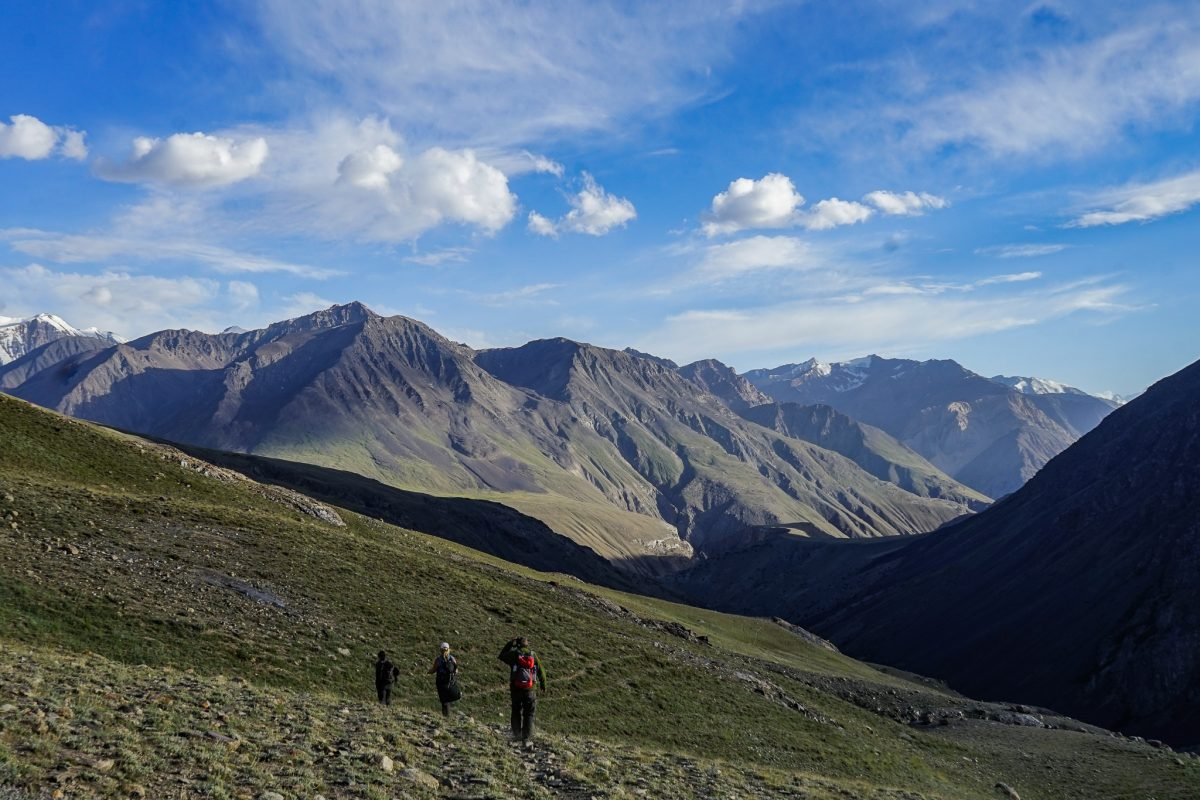 Trekking across the Wakhan Corridor