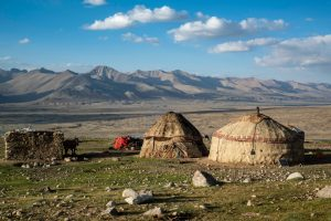 Nomadic yurt community of the Wakhan Corridor