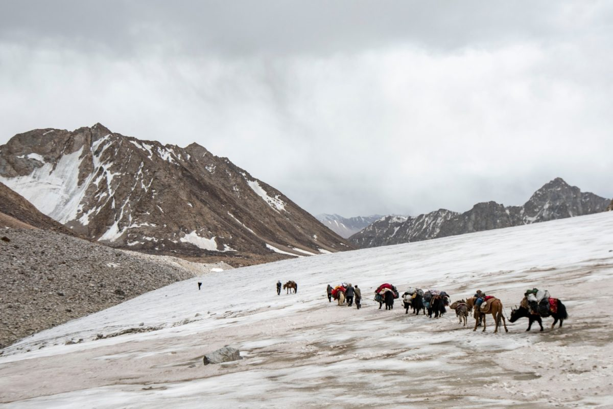 Yak herders in the Wakhan