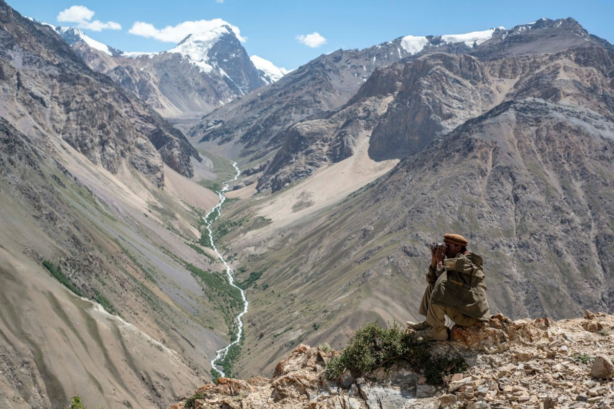 Trekking over high passes of the Pamir mountains in the Wakhan Corridor