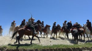 Buzkashi in Afghanistan