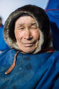 A Nenet elder living in the tundra
