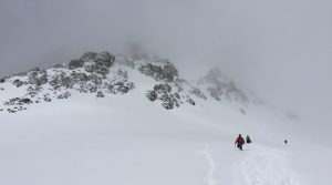 A whiteout is a close by in Iraqi Kurdistans Zagros mountains